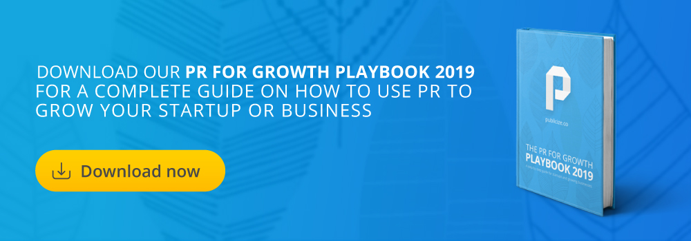 PR for Growth Playbook Banner