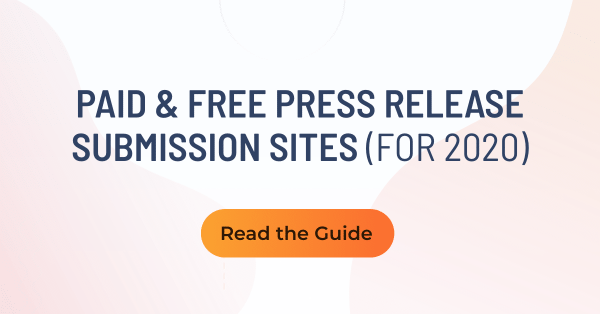 where to submit a press release for free