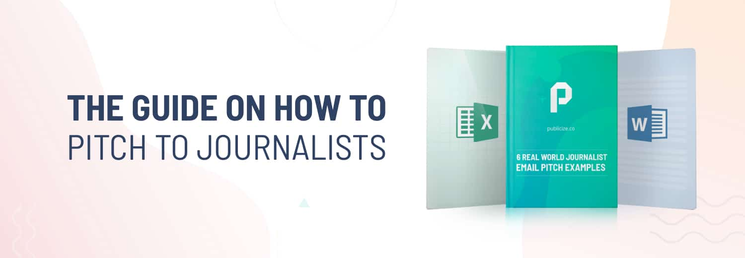 guide on how to pitch to journalists image